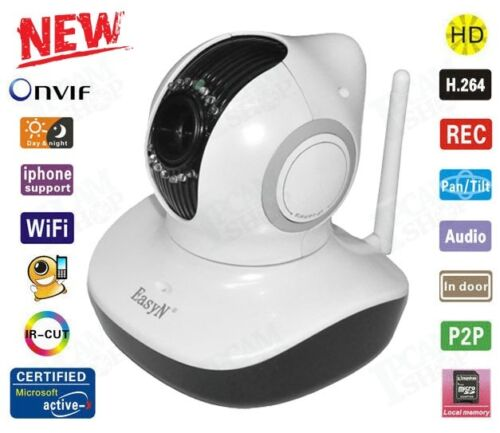 EasyN H3-V10D P2P 720P H.264 Wireless IP Camera TF Slot iPhone Android Remote