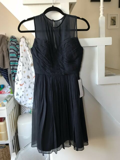 Navy J.Crew Bridesmaid Dress Size 2petite Tags on