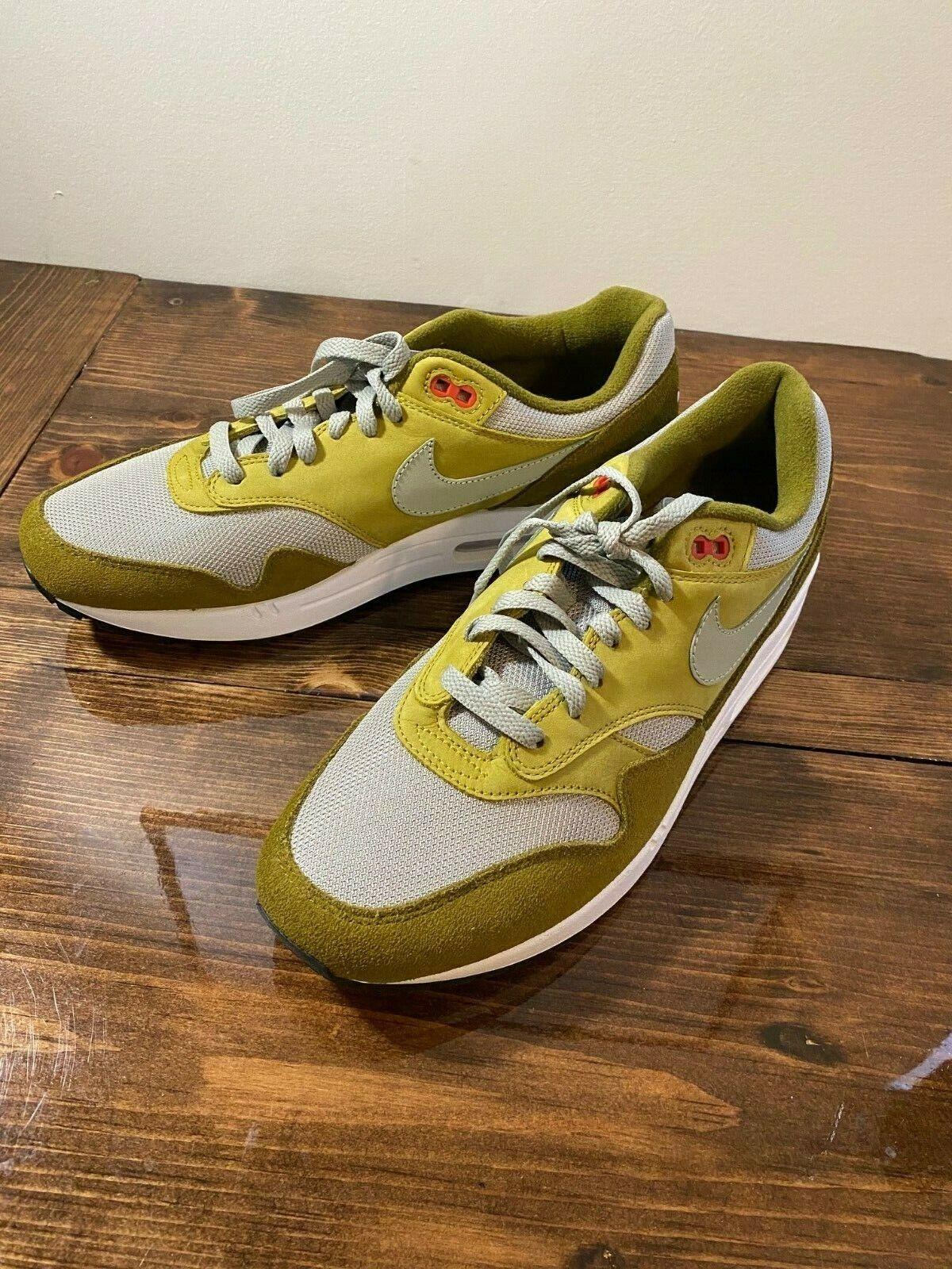 Nike Air Max 1 Premium Retro Curry Pack ~ 908366 300 ~ Uk Size 8
