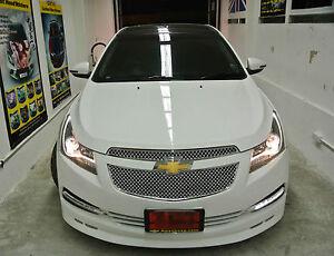 2013 Chevy Cruze For Sale >> FIT CHEVROLET CRUZE LS LT LTZ 2011 2012 2013 2014 CHROME MESH GRILLE GRILL | eBay