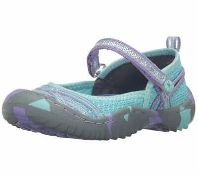 JAMBU Fia Girl/'s Outdoor Mary Jane Shoes Aqua Purple NEW NWT Baby Toddler size 6