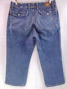 Buckle-BKE-Denim-Crop-Capri-Pants-Blue-Jeans-Women-039-s-Size-30
