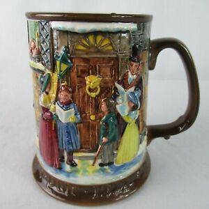 Royal-Doulton-Beswick-Dickens-Christmas-Carol-Tankard-Beer-Stein-Mug-1972
