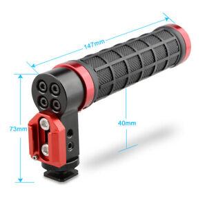 CAMVATE-Quick-Top-Handle-ColdShoe-Mount-Rig-Aluminum-Rubber-for-DSLR-Camera-Cage