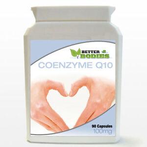 Co-enzima-q10-100mg-Bottiglia-coq10-co-q-10-coq-10-Coenzima-q10-90-Softgels