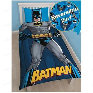BATMAN-039-SHADOW-039-SET-HOUSSE-DE-COUETTE-SIMPLE-DC-COMICS-REVERSIBLE