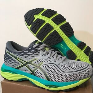 Athletic Shoes Clothing, Shoes & Accessories Asics Gel Cumulus 19 Women's T7b8n.9697 Mid Grey/carbon/yellow Running Beautiful And Charming