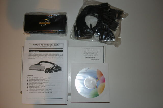 USB to 8 Port RS232 Module with Cable New in Box