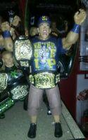 WWE Custom John Cena Wcw Nwa Nwo Roh Elite Tna Flashback Nxt Jakks Mattel