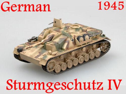 Easy Model 1//72 Germany Sturmgeschutz IV Tank Model Autumn 1944 #36132