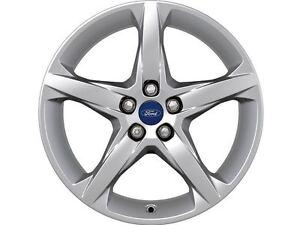 Details About Genuine Single Ford Focus 18 Alloy Wheel 5 Spoke Design 1719526