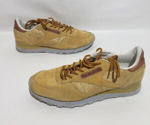 7444043e2000 Image is loading Reebok-Classic-Athletic-Shoe-Mens-Gold-Size-11