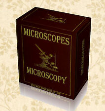 220 Rare Vintage Microscope Books on DVD Histology Microscopy Slides Science F5