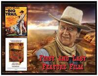John Wayne Fridge Magnet 4. Large 4 X 5. First And Last Feature Film.free Ship