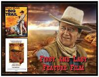 John Wayne Fridge Magnet 4. Large 4 X 5. First And Last Feature Film.free Ship