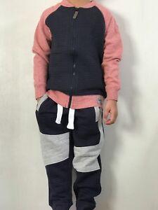 2 PZ per Bambini Ragazzi Sudore Maglione Abito vestito Abiti Pantaloni Completo Maniche Lunghe  </span>
