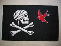 3'x 5' Jack Sparrow Jolly Roger Pirate Flag Pirates Of The Caribbean