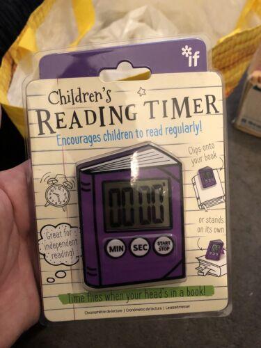 Si enfant lecture Timer NEUF le moins cher sur  livraison gratuite