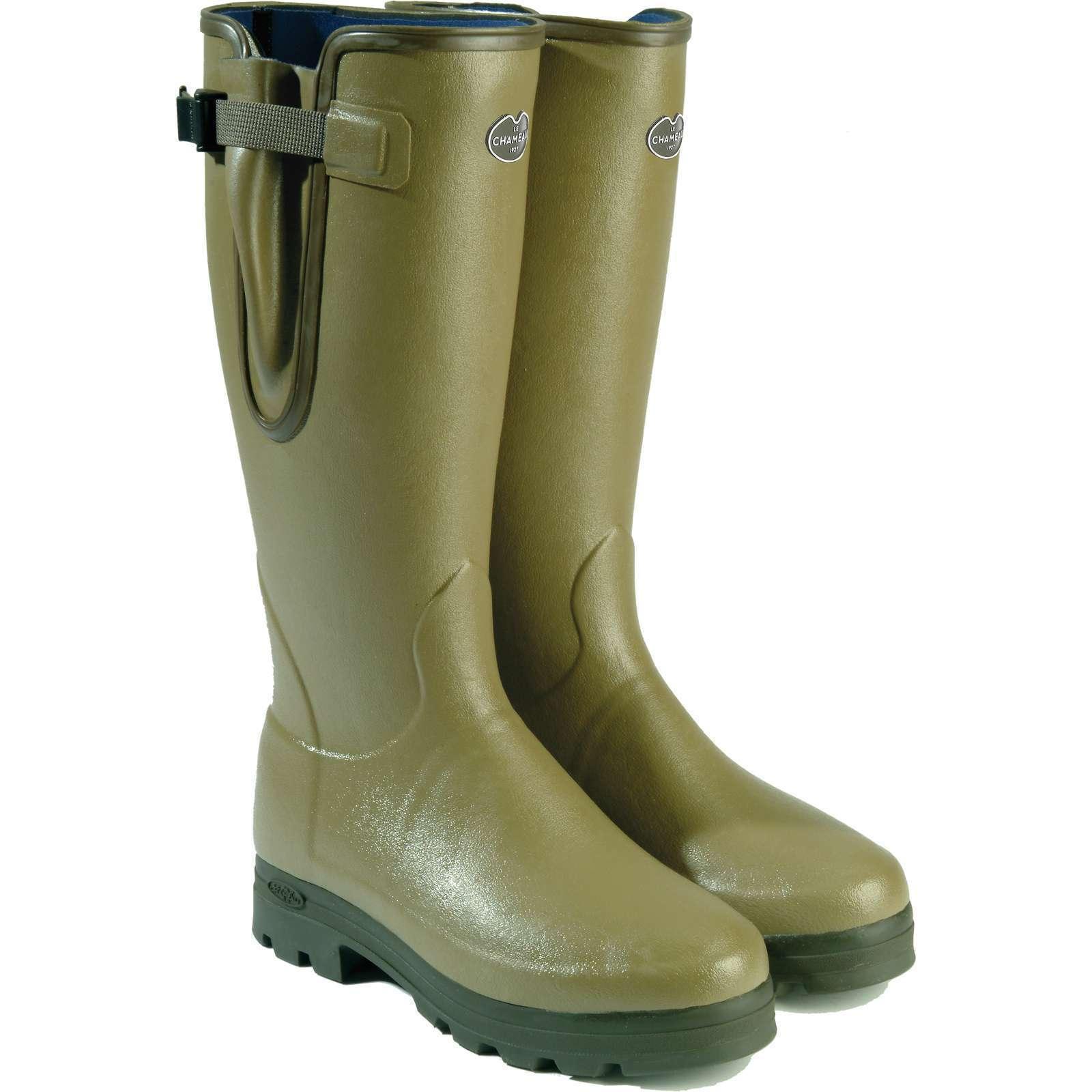 Le Chameau Vierzonord - Ladies Fit Wellington Boots 3540789152653