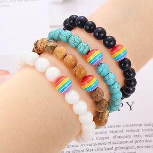 LGBT Pride Bracelet Gay Lesbian Amitié Bracelet Infinity Love Bracelet Support