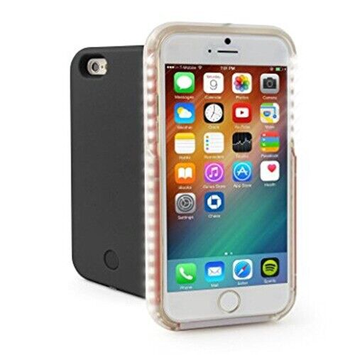 new style 6f260 18494 Genuine Casu Light Up Selfie Case With Led Lights For iPhone 6/6S/ Plus