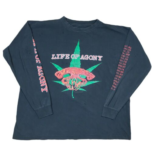 Vintage 90s Life Of Agony Long Sleeve T-Shirt 1997