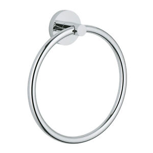 Chrome-Towel-Ring-Wall-Holder-Hanger-Modern-Bath-Accessories-Bathroom-Hardware