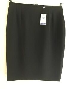Austin Reed Skirt Non Crease Black Pencil Skirt Beautiful Quality Size 14 Ebay