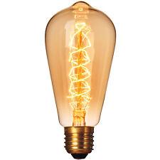 60W Filament Light Bulbs Vintage Retro Industrial Style edison Lamp E27 110v