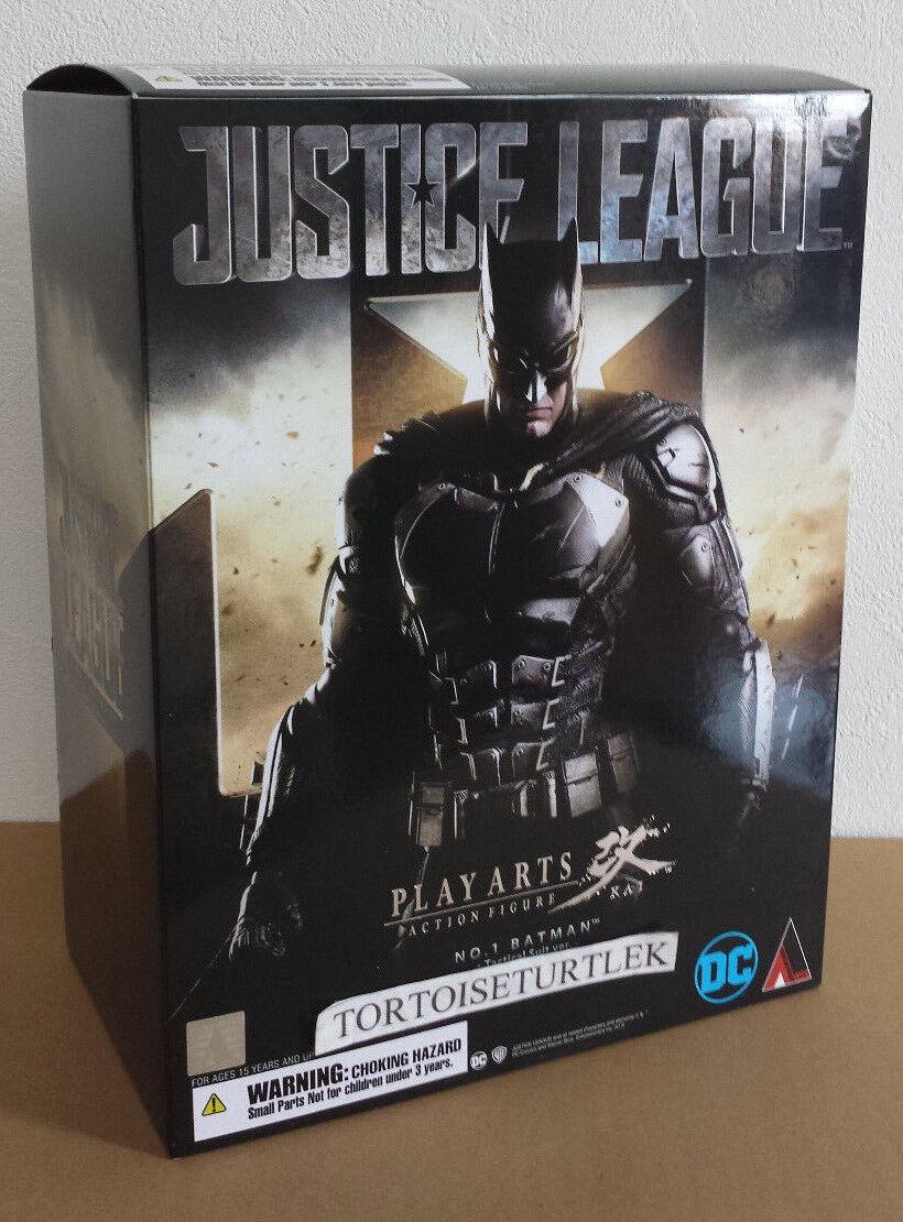 venta al por mayor barato Square Enix Jugar Arts Kai Batman Liga De La La La Justicia Dc táctico Traje Ver.  calidad oficial
