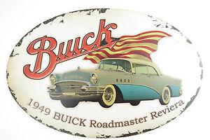 Grande LAMIERA SCUDO ovale Buick Roadmaster 1949  </span>