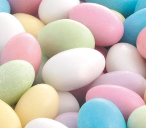 4KG ASSORTED COLOURS SUGAR COATED ALMONDSWEDDING FAVOURS BABY SHOWER EASTER
