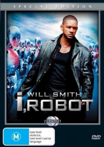 1 of 1 -  I ROBOT..2 X DISC COLLECTOR'S EDITION..REG 4..NEW & SEALED