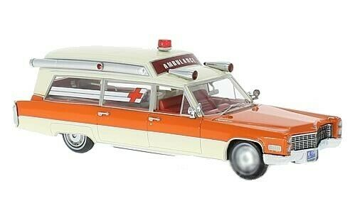 NEO MODELS Cadillac S&S High Top Ambulance 1966 1 43 49539