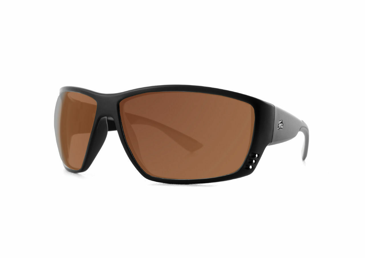 Fortis Vista Brown 24 7 Polarised Sunglasses - VA001 NEW Carp Fishing