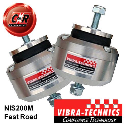 2 x Nissan Silvia S13//14//15 Vibra Technics Engine Mount Fast Road NIS200M