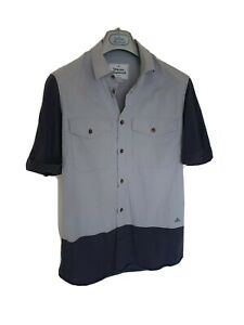 Mens-MAN-by-VIVIENNE-WESTWOOD-short-sleeve-shirt-size-II-small-RRP-275