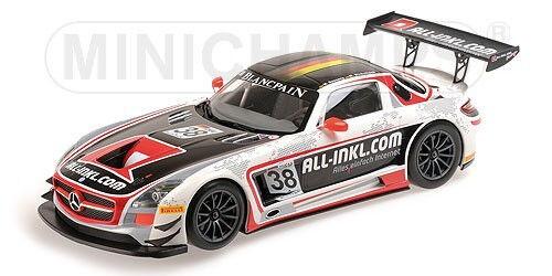 MNC151123138 - Voiture de courses SLS AMG GT3 MERCEDES BENZ FIA GT1 2012 - 1/18