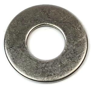 1//2 Screw Size 18-8 Stainless Steel 0.562 ID USS Washer 1.375 OD