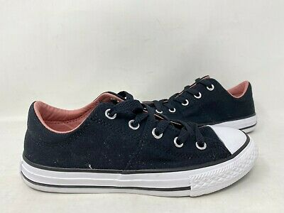 Converse Youth Girl/'s Lace Up Low Top Madison Shoes Maroon #661912F 185C tk NEW