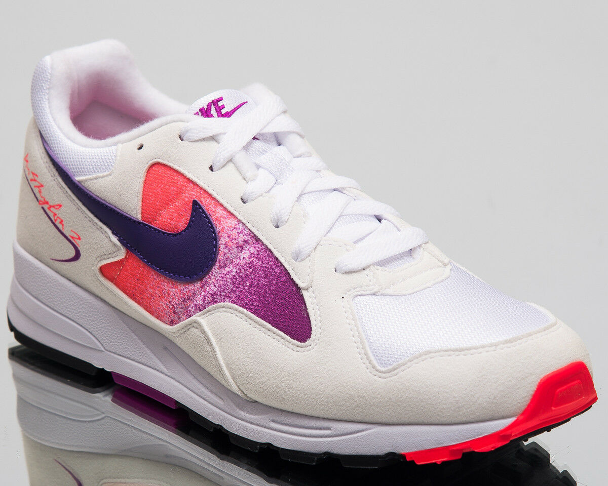 Nike Luft Skylon II Og Lifestyle Schuhe Weiß Hof Lila Turnschuhe AO1551-103