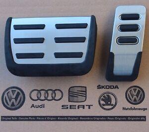 Audi-A4-8E-B6-B7-original-RS4-Pedalset-Pedale-S4-8H-Pedalkappen-pedal-pads-caps