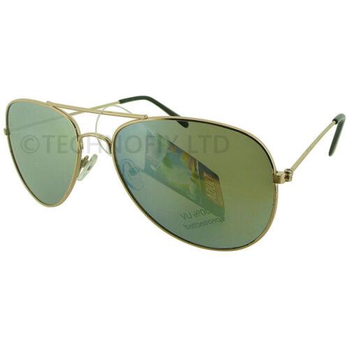Top Gun Pilot Full UV Protection Various Colours Fancy Dress Sunglasses