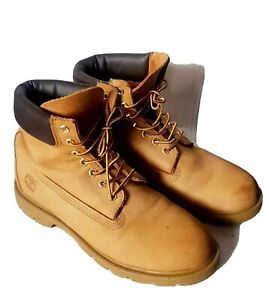 Timberland-Classic-18094-Mens-AnkleBoots-Size-10M-Waterproof-NUBUCK-WHEAT