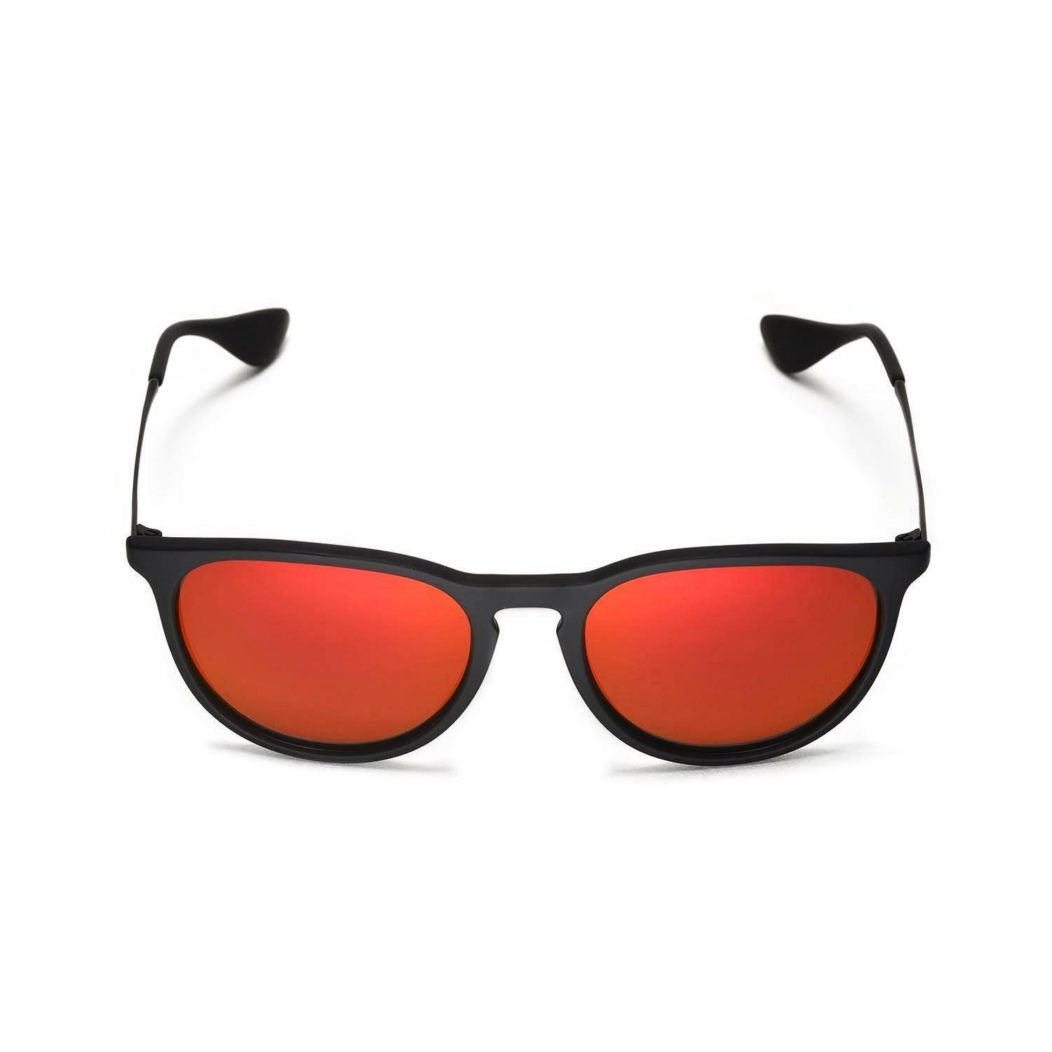 6b6ae1e3722 Walleva Polarized Fire Red Lenses for Ray-ban Erika Rb4171 54m Sunglasses  for sale online