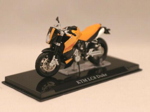 Ed Atlas escala 1:24 KTM LC8 Duque Modelo de moto OVP de 14