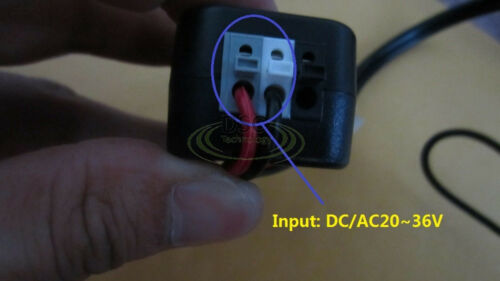 New AC 24V To DC 12V Power Supply Converter Adapter For CCTV Security Camera