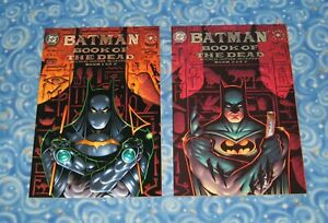 New Batman Book of the Dead 1 and 2 Comic Book TPB Graphic Novel Set DC