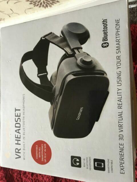 Goodman's VR Bluetooth headset in WA8