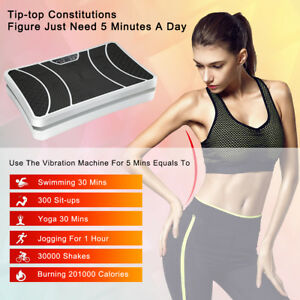 Vibration-Machine-Vibrating-Plate-Platform-Body-Shaper-Fitness-Exercise-Machines
